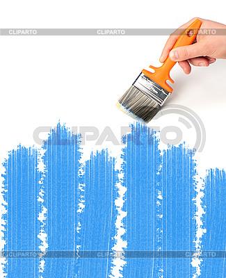 Pinsel und Farbe   Foto mit hoher Auflösung  ID 3107314