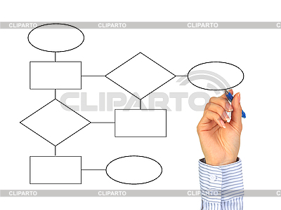 Hand zeichnet Diagramme | Foto mit hoher Auflösung |ID 3108277
