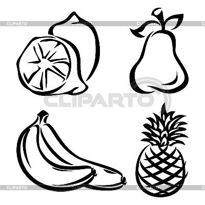 Owoce | Klipart wektorowy |ID 3131190