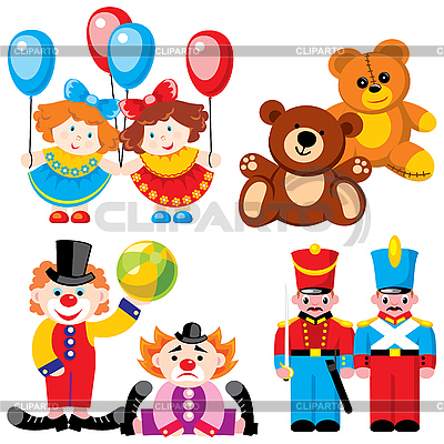 клипарт детские игрушки: