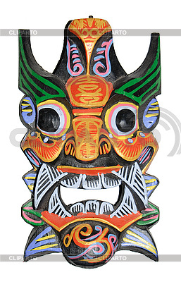 Chiński smok maska | Foto stockowe wysokiej rozdzielczości |ID 3109114