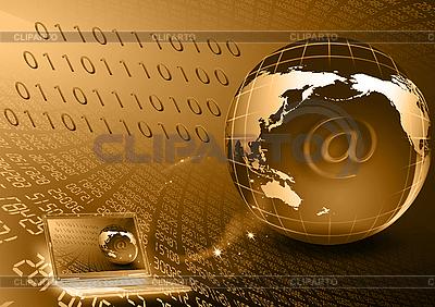 Übertragung von digitalen Strömen | Illustration mit hoher Auflösung |ID 3112621