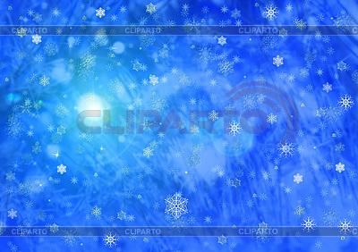 Weihnachtshintergrund von Schneeflocken | Illustration mit hoher Auflösung |ID 3112715