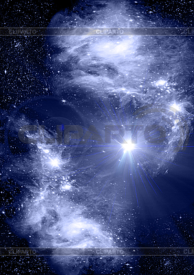 Jasna gwiazda w kosmosie | Stockowa ilustracja wysokiej rozdzielczości |ID 3112744
