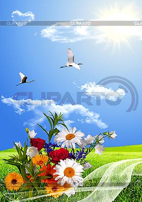 Результаты поиска две птицы и цветы