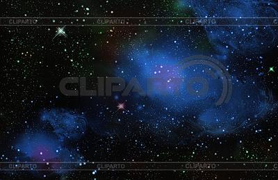 Звезды в глубоком космосе | Иллюстрация большого размера |ID 3196844