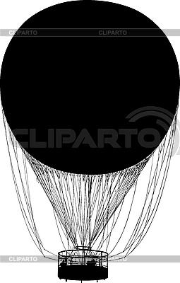Sylwetka balon | Stockowa ilustracja wysokiej rozdzielczości |ID 3113338