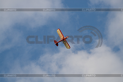 Kleines privates Flugzeug | Foto mit hoher Auflösung |ID 3113345