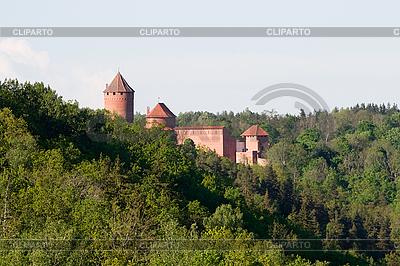 Turaida Zamek | Foto stockowe wysokiej rozdzielczości |ID 3114536