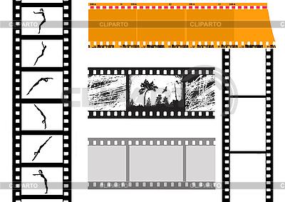 Set von Filmen | Stock Vektorgrafik |ID 3202040