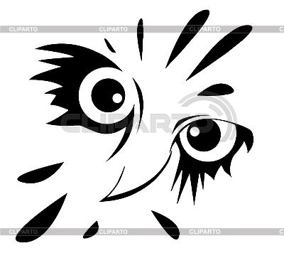Zeichnung der Eule | Stock Vektorgrafik |ID 3202474