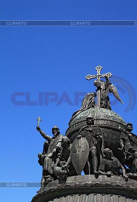 Denkmal der Jahrtausendwende nach Russland im Groß-Nowgorod | Foto mit hoher Auflösung |ID 3248678