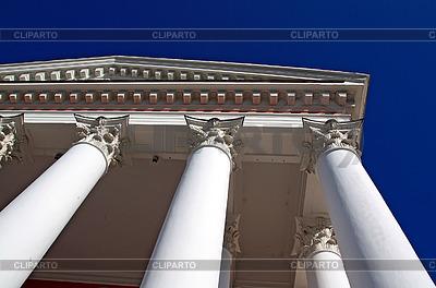Weißen Säulen | Foto mit hoher Auflösung |ID 3249048