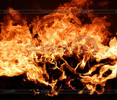 Ogień w piecu | Foto stockowe wysokiej rozdzielczości |ID 3249374