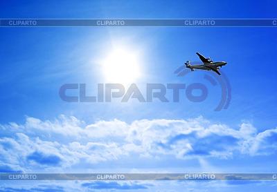 Flugzeug im Himmel | Foto mit hoher Auflösung |ID 3249429