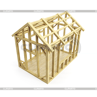 Stock images by dmitry kutlaev photos illustrations - Wood house structure design ...
