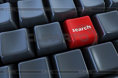 Tastatur mit Suchtaste | Illustration mit hoher Auflösung |ID 3158616