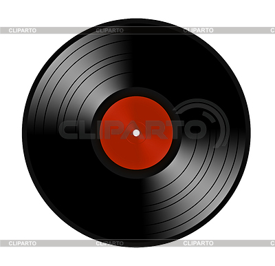 Czarny winyl lp albumu dysku | Foto stockowe wysokiej rozdzielczości |ID 3243102