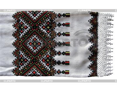 Tradycyjny ukraiński haftowane ręczniki | Foto stockowe wysokiej rozdzielczości |ID 3140436