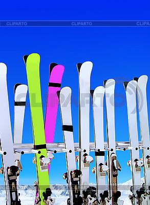 Skigebiet | Foto mit hoher Auflösung |ID 3137818