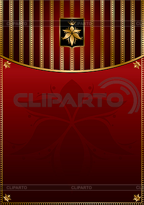 Rotgoldener Hintergrund | Stock Vektorgrafik |ID 3125986