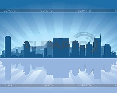 Nashville Skyline | Klipart wektorowy |ID 3134663