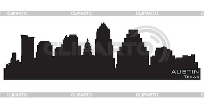 Austin skyline | Klipart wektorowy |ID 3201339