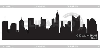 Columbus skyline | Klipart wektorowy |ID 3201352