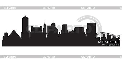 Skyline von Memphis | Stock Vektorgrafik |ID 3201385
