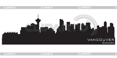 Vancouver skyline | Klipart wektorowy |ID 3201411