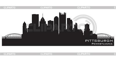 Skyline von Pittsburgh | Stock Vektorgrafik |ID 3338542