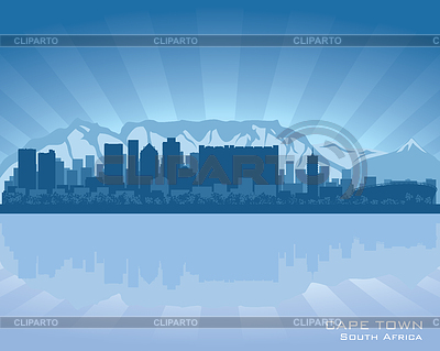 Cape Town, Skyline | Stock Vektorgrafik |ID 3364845