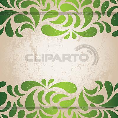 Zielona tapeta | Klipart wektorowy |ID 3182220