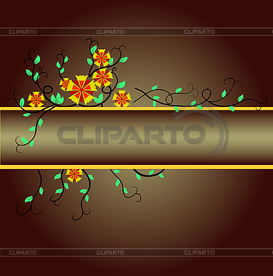 Blumenmuster | Stock Vektorgrafik |ID 3133967
