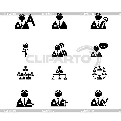 Ikony człowieka | Klipart wektorowy |ID 3134018