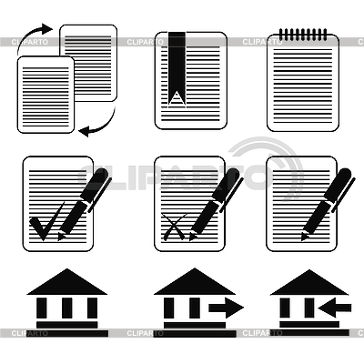 Zestaw ikon biznesu | Klipart wektorowy |ID 3134027