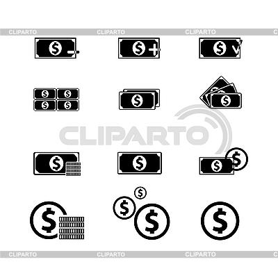 Geld-Icons | Stock Vektorgrafik |ID 3134048