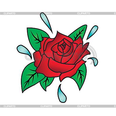 Róża | Klipart wektorowy |ID 3134065