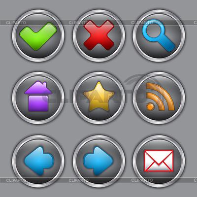 Веб-иконки | Векторный клипарт
