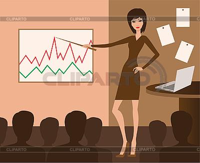 Spotkanie biznesowe | Klipart wektorowy |ID 3143177