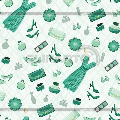 Seamless wzór mody | Klipart wektorowy |ID 3166219