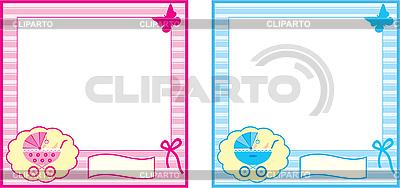 Baby-Fotorahmen | Stock Vektorgrafik |ID 3166237