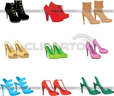 клипарт туфли: