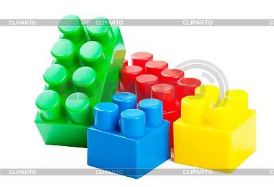 Kunststoff-Bausteine | Foto mit hoher Auflösung |ID 3151449