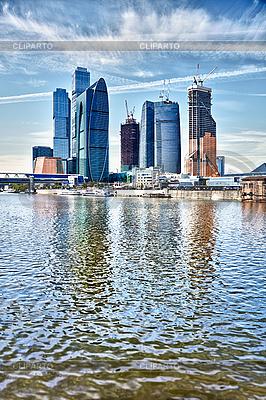 Wieżowce w Moskwie - Rosja | Foto stockowe wysokiej rozdzielczości |ID 3144350