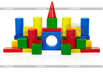 Spielzeug Burg | Foto mit hoher Auflösung |ID 3145799