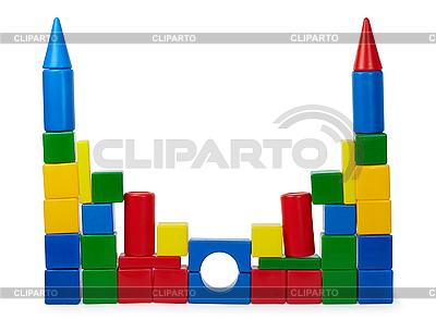Rickety Burg Farbwürfel | Foto mit hoher Auflösung |ID 3145828