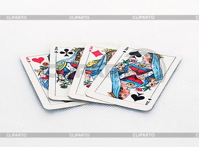 Cztery królowe | Foto stockowe wysokiej rozdzielczości |ID 3147390