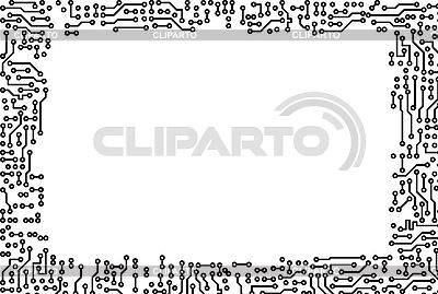 Gestell aus elektronischen Bauteilen | Illustration mit hoher Auflösung |ID 3148774