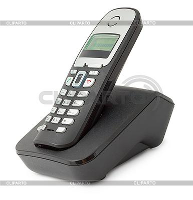 Zwykły telefon stacjonarny biurowy | Foto stockowe wysokiej rozdzielczości |ID 3152647